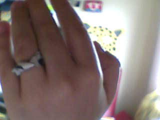 How to make a recycled ring. Chocolate Button Wrapper To...... A Beautiful Ring - Step 4