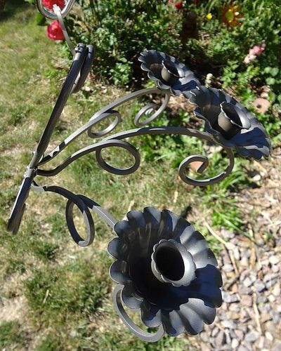 How to make a chandelier. Fancy Outdoor Solar Light - Step 2