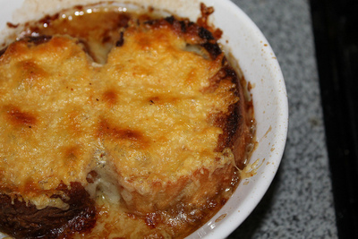How to cook French onion soup. French Onion Soup - Step 7