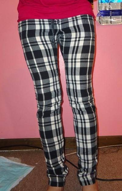 How to make pyjamas / a nightie. Pajamas To Skinny 'Jeans' - Step 5