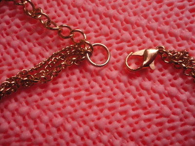 How to make a safety pin necklace. Safety Pin Necklace. - Step 10