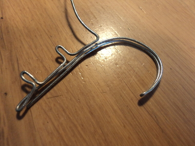 How to make a chain earring. Chained Ear Cuff - Step 5