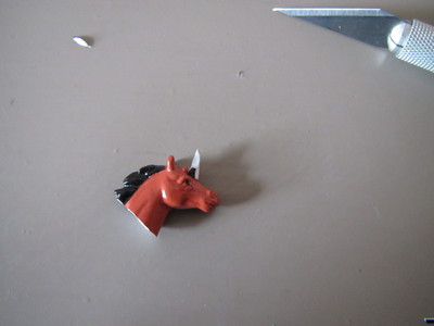 How to make an animal ring. Unicorn Ring - Step 4