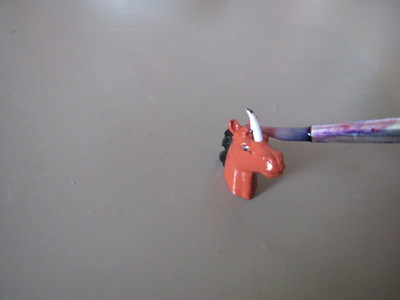 How to make an animal ring. Unicorn Ring - Step 6
