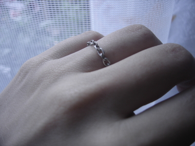 How to make a chain ring. Chain Ring - Step 4