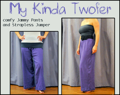 How to make pyjamas / a nightie. It's A Twofer: Comfy Jammie Pants And Jumper For $5.95 - Step 14