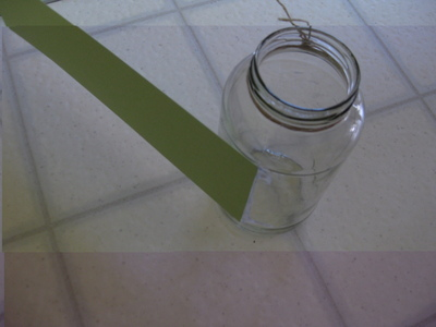 How to decorate a bottle / jar. Diy Pencil Jar - Step 8