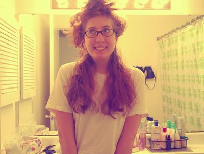 How to make a hair & beauty project. Henna Hair Tutorial  - Step 5