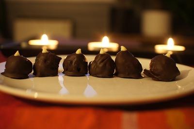 How to bake a batch of Oreo balls. Oreobeads - Step 5