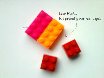 How to make a Lego necklace. Lego Block Necklace - Step 2