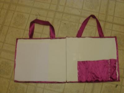 How to make a binder folder. Portable Art Folder - Step 6