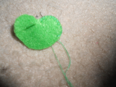 How to sew a vegetable plushie. Carrot Plushie - Step 4