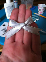 How to make a charm necklace. Mirror Necklace  - Step 4