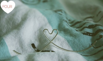 How to make a ring. Wire Heart Ring - Step 4