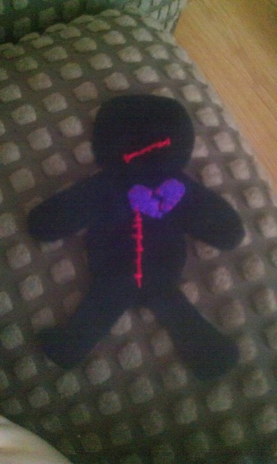 How to make a Doctor Who plushie. Voodoo Doll Pin Cushion - Step 5
