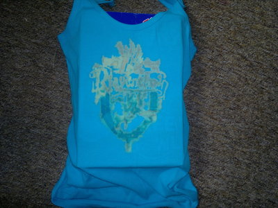 How to make a tank top. Ravenclaw Tshirt - Step 3