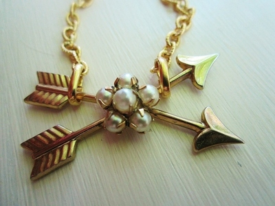 How to make a chain necklace. The Hunter Necklace - Step 3