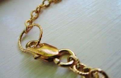 How to make a chain necklace. The Hunter Necklace - Step 5