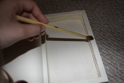 How to make a book box. Hollow Book - Step 9