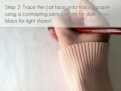 How to make a shoe. Cat Shoes - Step 2