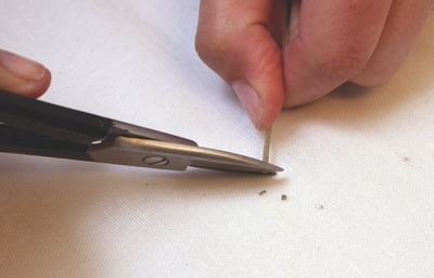 How to make a jewelry settings. Silver Chain Making - Step 9