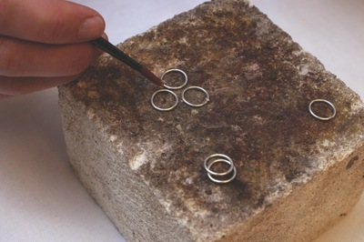How to make a jewelry settings. Silver Chain Making - Step 10