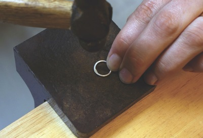 How to make a jewelry settings. Silver Chain Making - Step 13