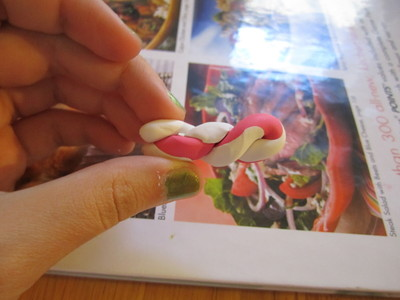 How to make a clay ring. Marbled Polymer Clay Ring - Step 20