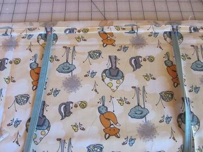How to make a duvet. Toddler Bedding : Duvet, Pillowcase & Fitted Sheet - Step 3