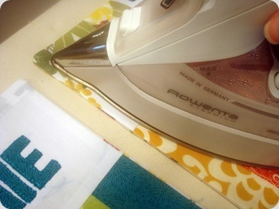 How to sew a patchwork tote. Patchwork Pocket Tote Bag  - Step 10
