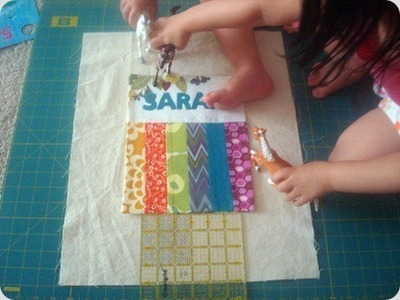 How to sew a patchwork tote. Patchwork Pocket Tote Bag  - Step 11