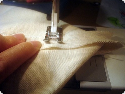 How to sew a patchwork tote. Patchwork Pocket Tote Bag  - Step 16