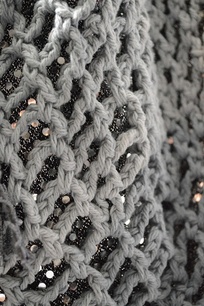 How to make a knit or crochet tote. Crochet A Free People Like Beach Bag - Step 3