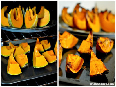 How to make a sweet sauce. Pumpkin Puree - Step 3