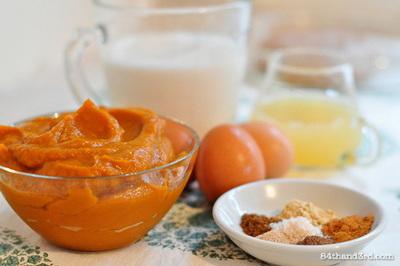 How to make a sweet sauce. Pumpkin Puree - Step 5