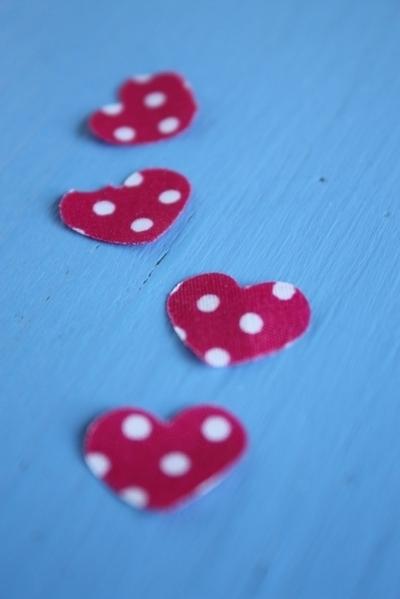 How to make confetti. Fabric Confetti - Step 9