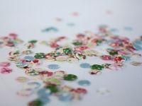 How to make confetti. Fabric Confetti - Step 10