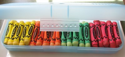 How to make a chocolate. Edible Crayons - Step 5