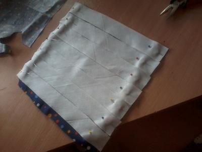 How to make a clutch. Pianobag - Step 5