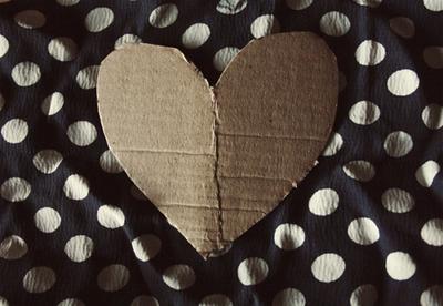 How to make a cut-out dress. Heart Cutout Dress - Step 2