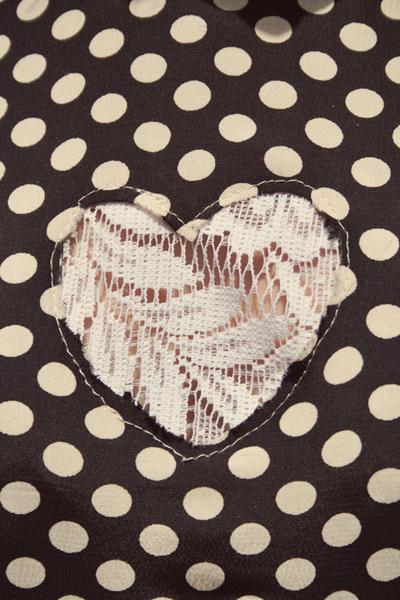 How to make a cut-out dress. Heart Cutout Dress - Step 7