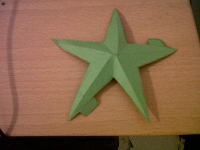 How to make a clock. Star Spangled Clock - Step 2