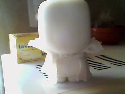 How to make a food plushie. Cute Toonix Vampire! - Step 8