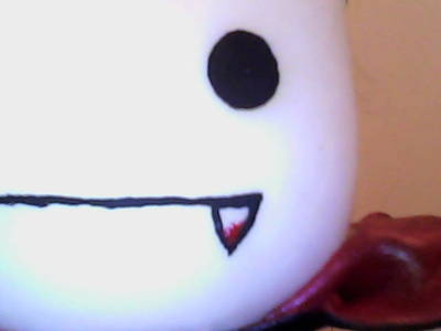 How to make a food plushie. Cute Toonix Vampire! - Step 16