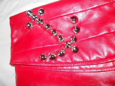 How to make a clutch. Studded Clutch Refashion - Step 4