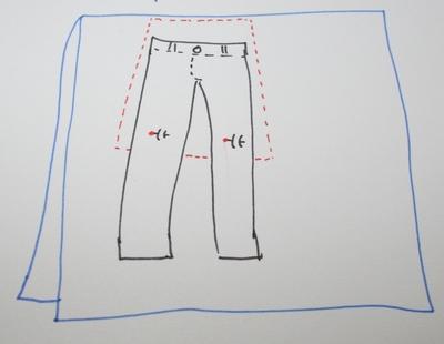 How to sew a scalloped hem skirt. Scalloped Skirt - Step 3