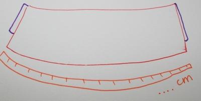 How to sew a scalloped hem skirt. Scalloped Skirt - Step 9