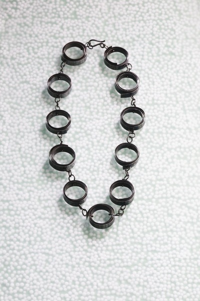 How to make a chain necklace. Spring Time Necklace - Step 13