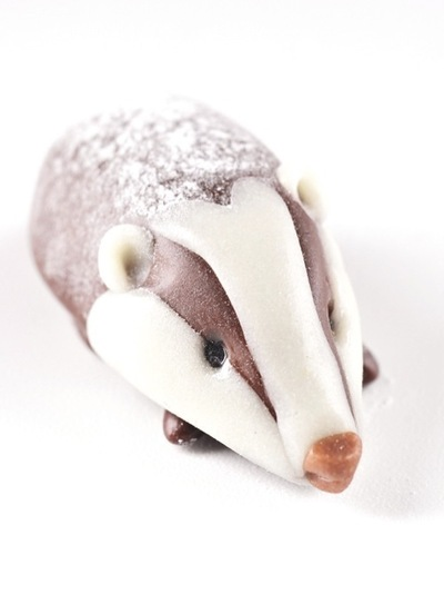 How to make a chocolate. Chocolate Badger - Step 9