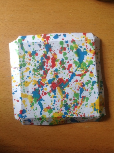How to make a light switch. Splat Light Switch Cover - Step 6